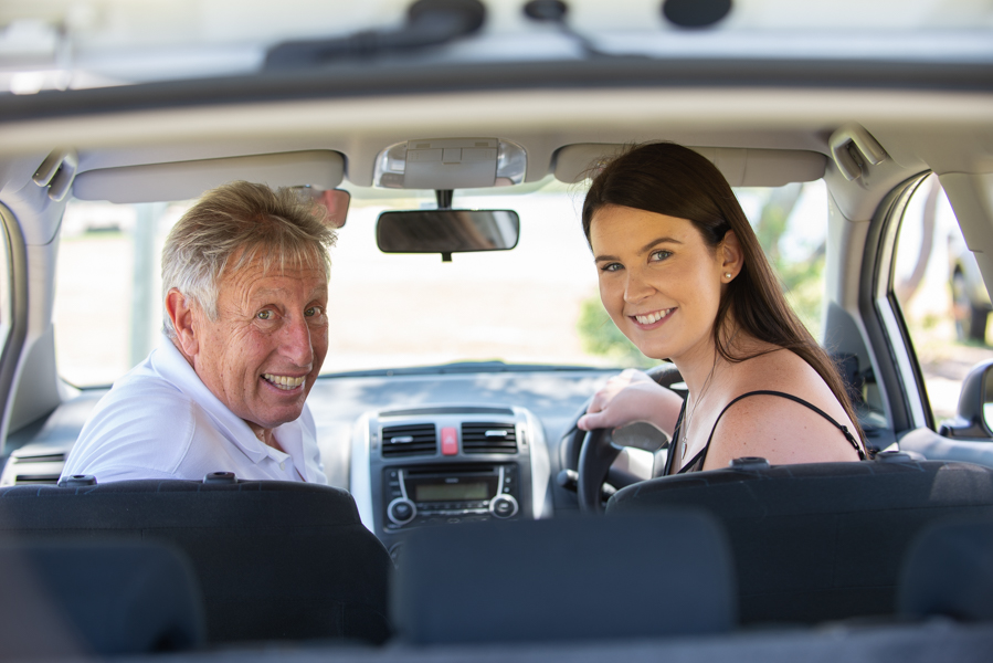 Picture of Driving Instructor and Student